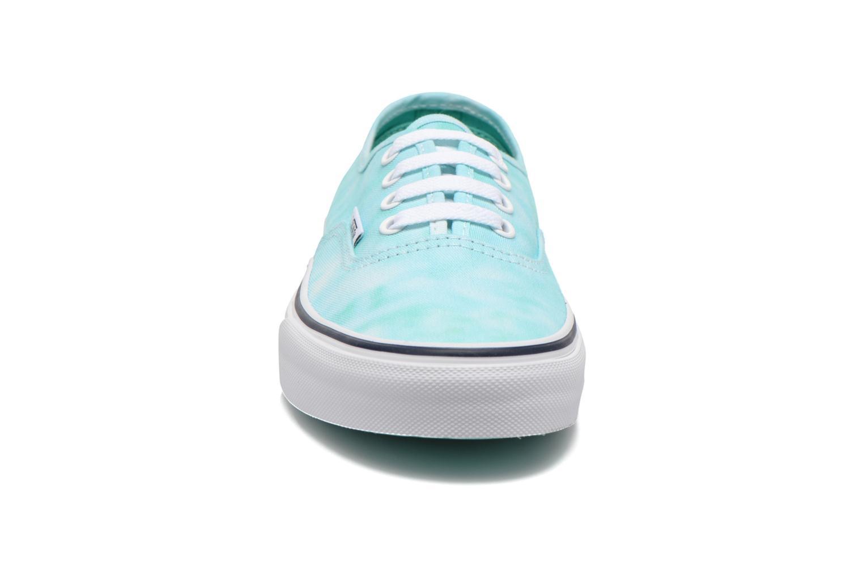 Sneaker Vans Authentic w grün schuhe getragen