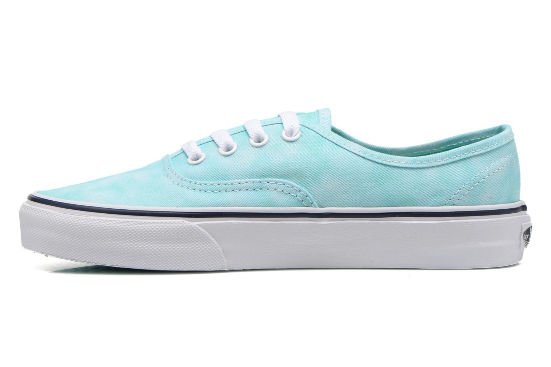Sneaker Vans Authentic w grün ansicht von vorne