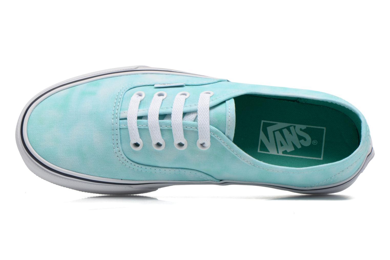 Sneaker Vans Authentic w grün ansicht von links