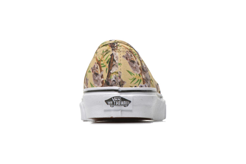 Sneakers Vans Authentic w Multicolor rechts