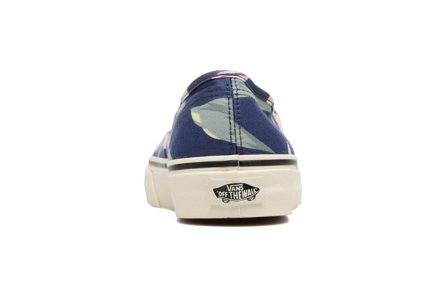 Baskets Vans Authentic w Bleu vue droite
