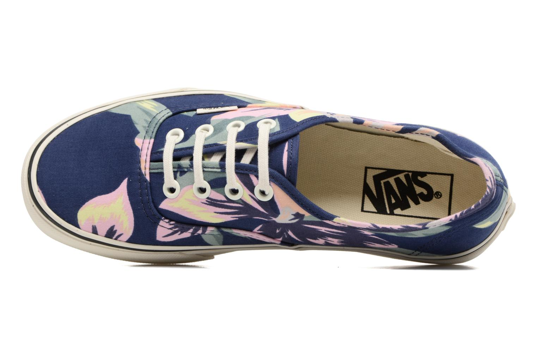 Sneaker Vans Authentic w blau ansicht von links