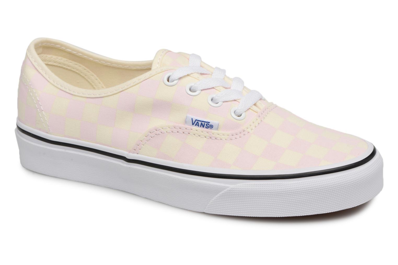Vans Authentic w (Rose) - Baskets en Más cómodo Chaussures femme pas cher homme et femme