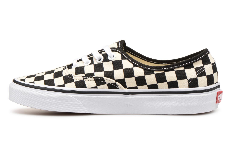 Sneaker Vans Authentic w schwarz ansicht von vorne