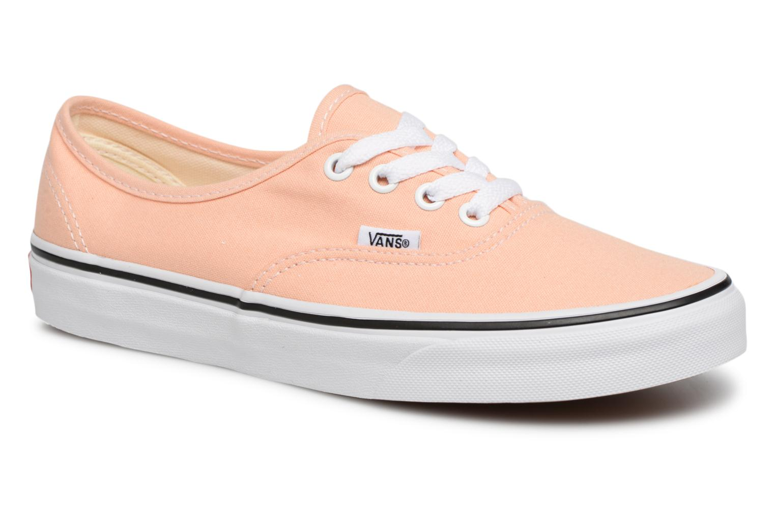 Vans Authentic w (Orange) - Baskets en Más cómodo Confortable et belle