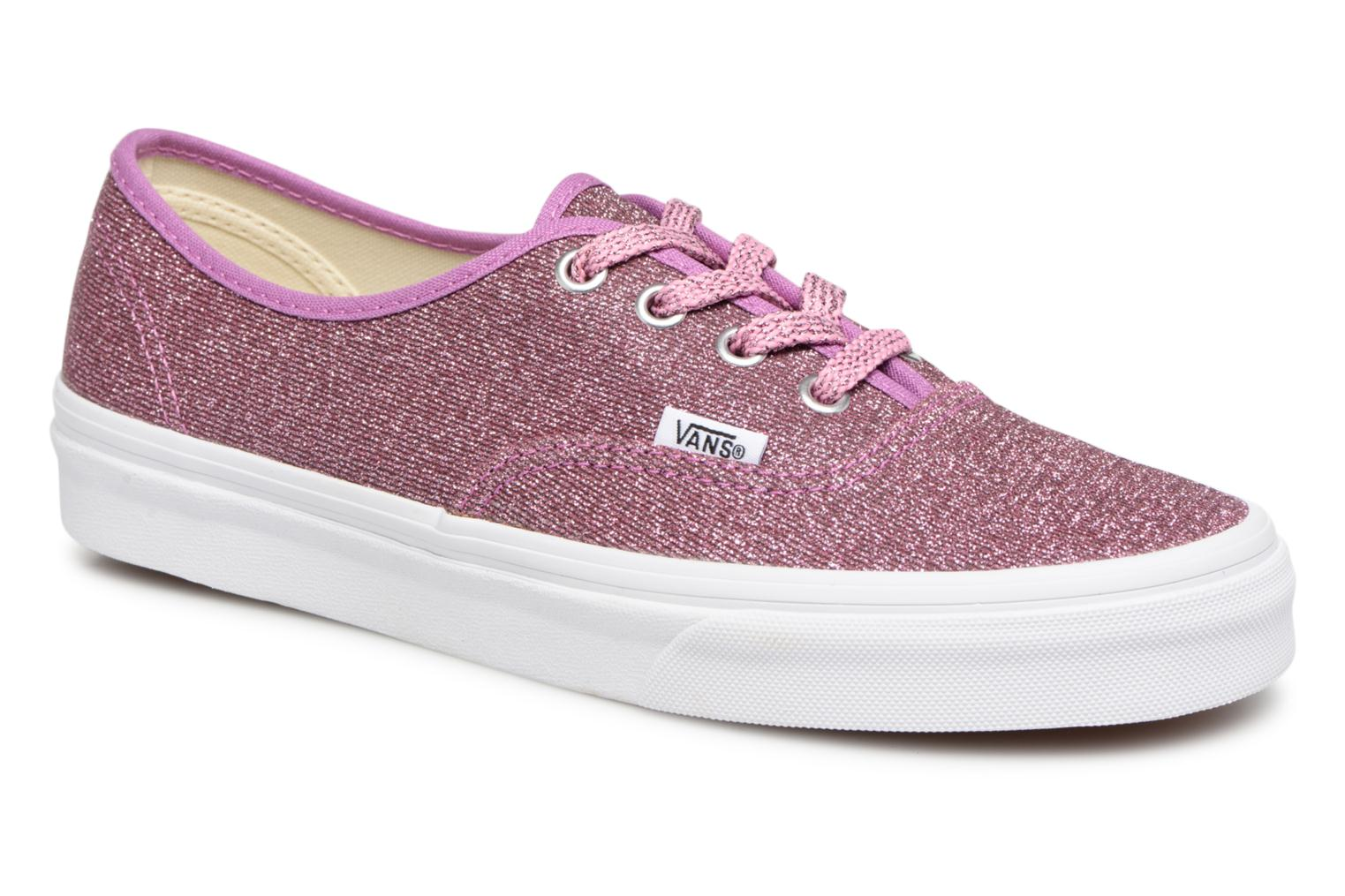 Vans Authentic w (Rose) - Baskets en Más cómodo Confortable et belle