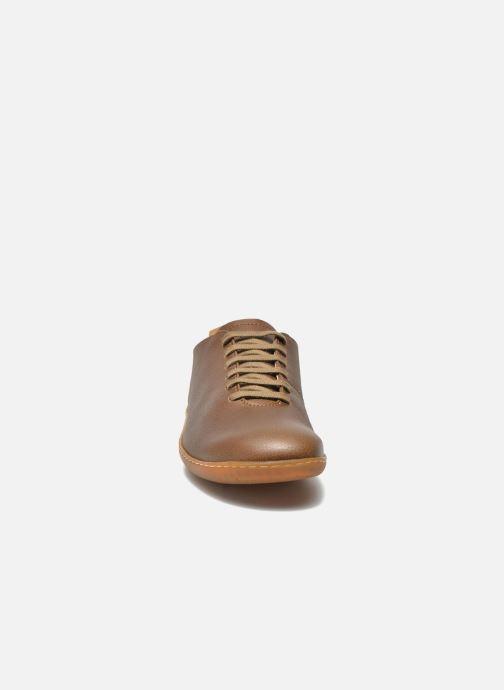 Chaussures à lacets El Naturalista El Viajero N296 M Marron vue portées chaussures