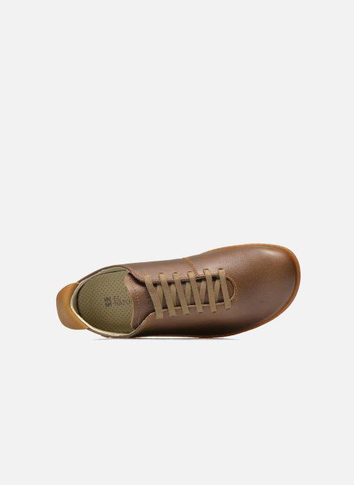 Scarpe con lacci El Naturalista El Viajero N296 M Marrone immagine sinistra