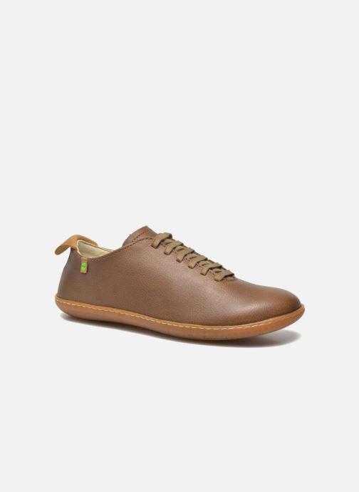 Chaussures à lacets El Naturalista El Viajero N296 M Marron vue détail/paire
