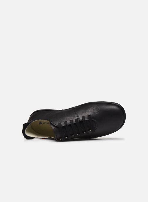 Chaussures à lacets El Naturalista El Viajero N296 M Noir vue gauche