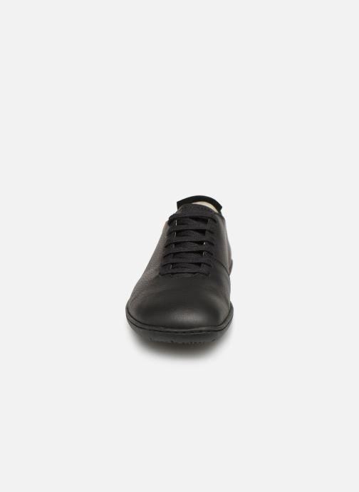 Chaussures à lacets El Naturalista El Viajero N275 W Cuero Noir vue portées chaussures