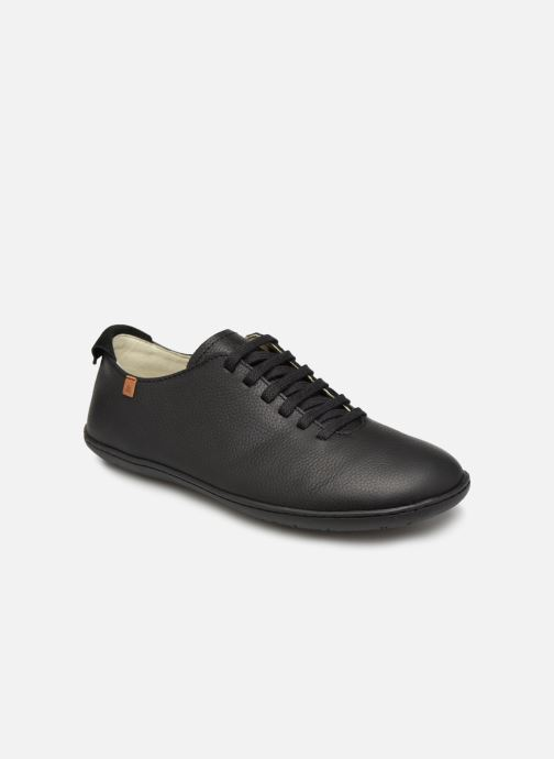 Chaussures à lacets El Naturalista El Viajero N275 W Cuero Noir vue détail/paire