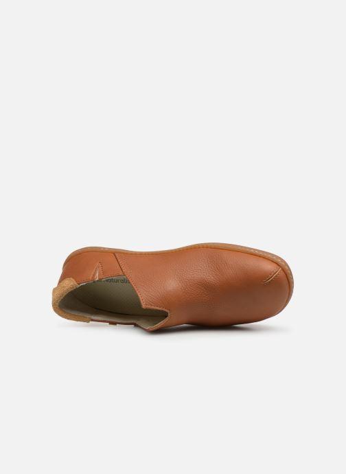 Chaussures à lacets El Naturalista El Viajero N275 W Cuero Marron vue gauche