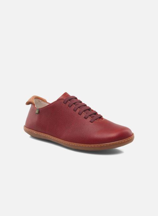 Chaussures à lacets El Naturalista El Viajero N275 W Cuero Bordeaux vue détail/paire