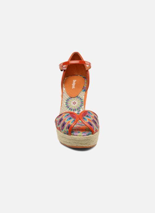 Sandales et nu-pieds Desigual Leilani Multicolore vue portées chaussures