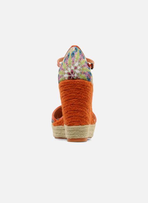 Sandalen Desigual Leilani Multicolor rechts