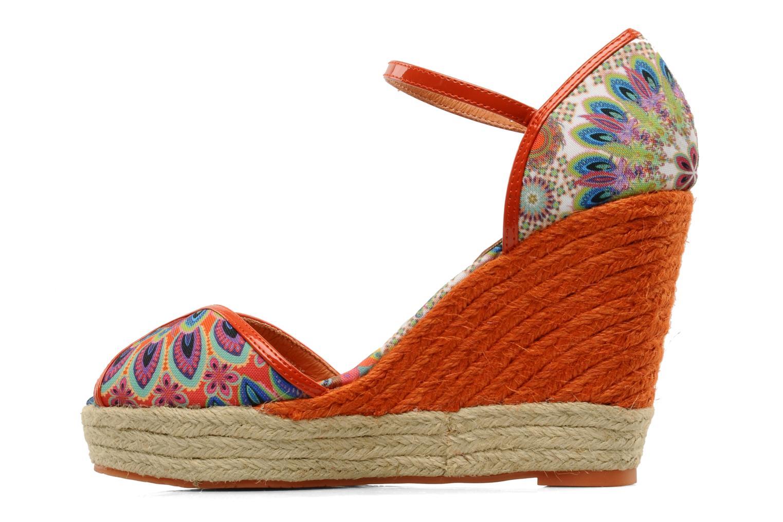 Sandales et nu-pieds Desigual Leilani Multicolore vue face