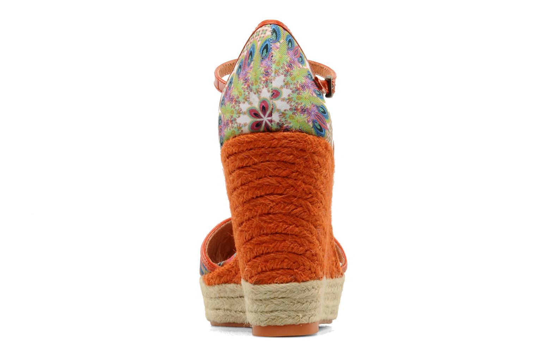Sandales et nu-pieds Desigual Leilani Multicolore vue droite