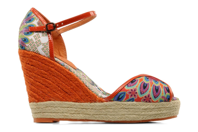 Sandales et nu-pieds Desigual Leilani Multicolore vue derrière