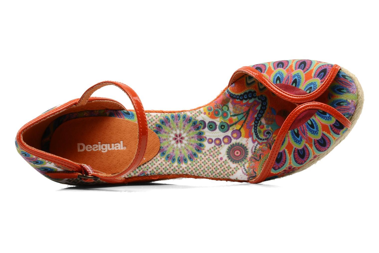 Sandales et nu-pieds Desigual Leilani Multicolore vue gauche