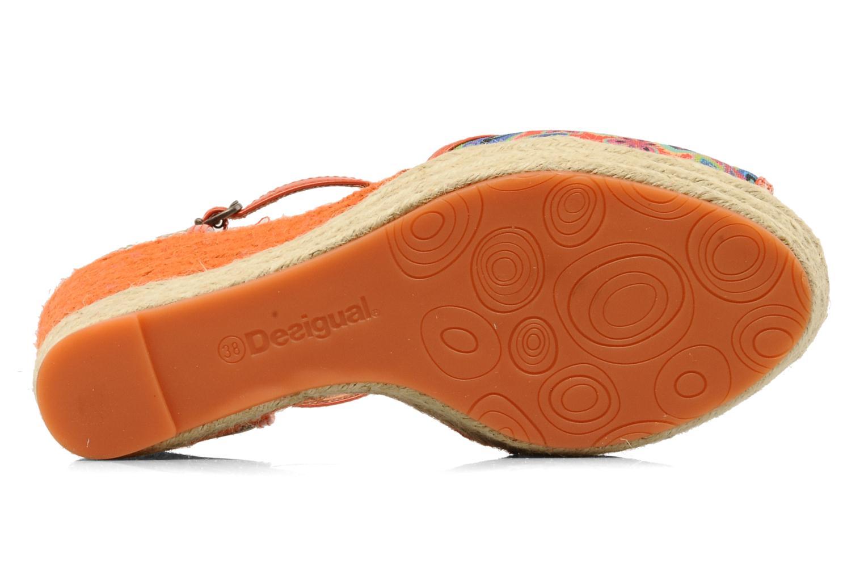 Sandales et nu-pieds Desigual Leilani Multicolore vue haut