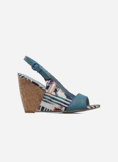 Sandals Desigual Minoa Blue back view