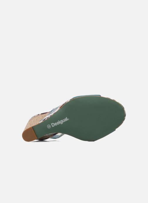 Sandalias Desigual Minoa Azul vista de arriba