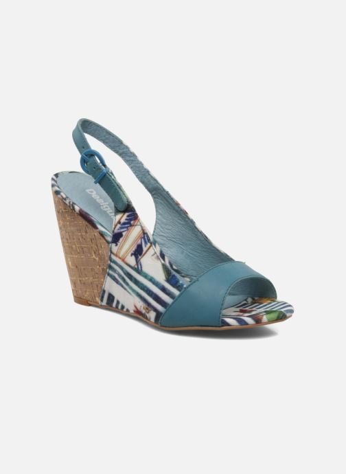 Sandals Desigual Minoa Blue detailed view/ Pair view