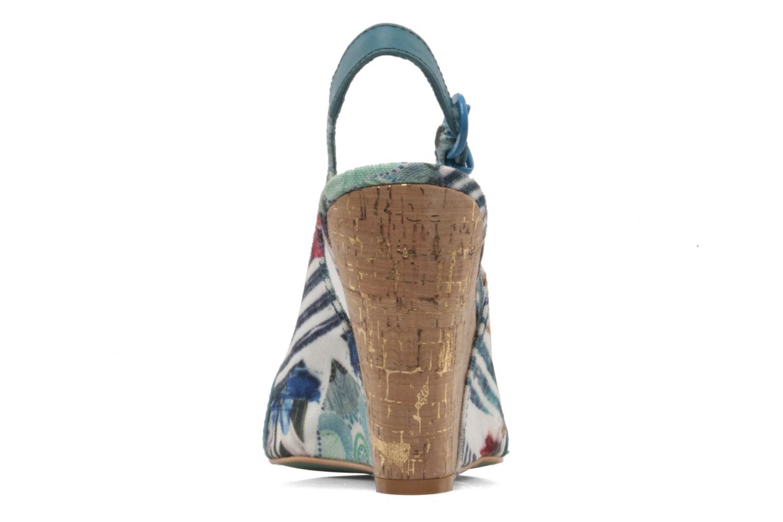 Sandales et nu-pieds Desigual Minoa Bleu vue droite