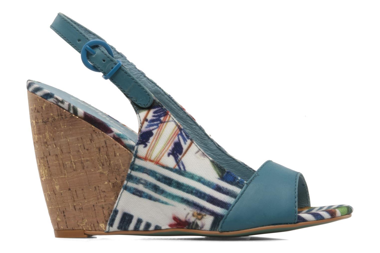 Sandales et nu-pieds Desigual Minoa Bleu vue derrière
