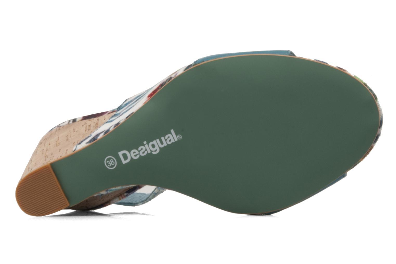 Sandales et nu-pieds Desigual Minoa Bleu vue haut