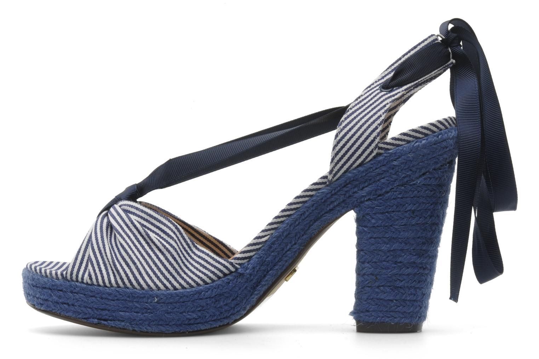 Sandales et nu-pieds Ravel JETTY Bleu vue face