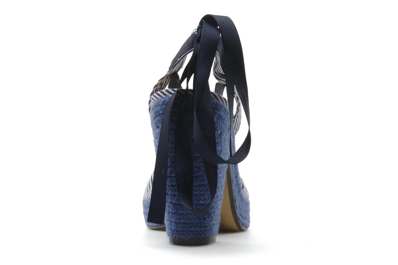 Sandales et nu-pieds Ravel JETTY Bleu vue droite