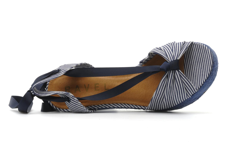 Sandales et nu-pieds Ravel JETTY Bleu vue gauche