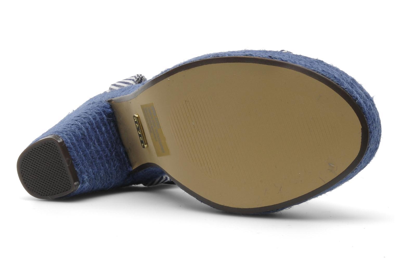 Sandales et nu-pieds Ravel JETTY Bleu vue haut