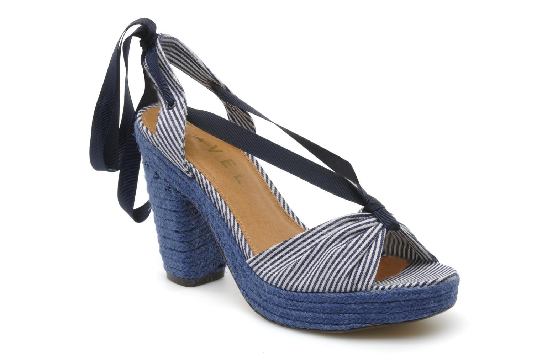 Sandales et nu-pieds Ravel JETTY Bleu vue détail/paire