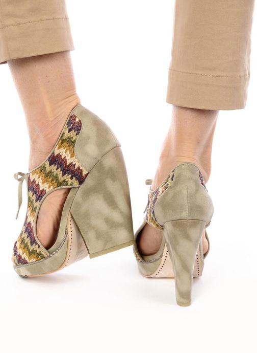 Chaussures à lacets Feud WHIP Multicolore vue bas / vue portée sac