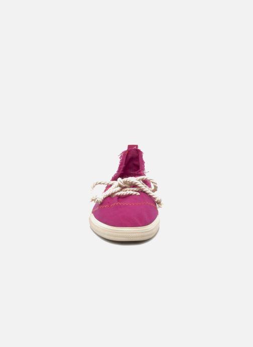 Ballerines Rocket Dog Changes Canvas Rose vue portées chaussures