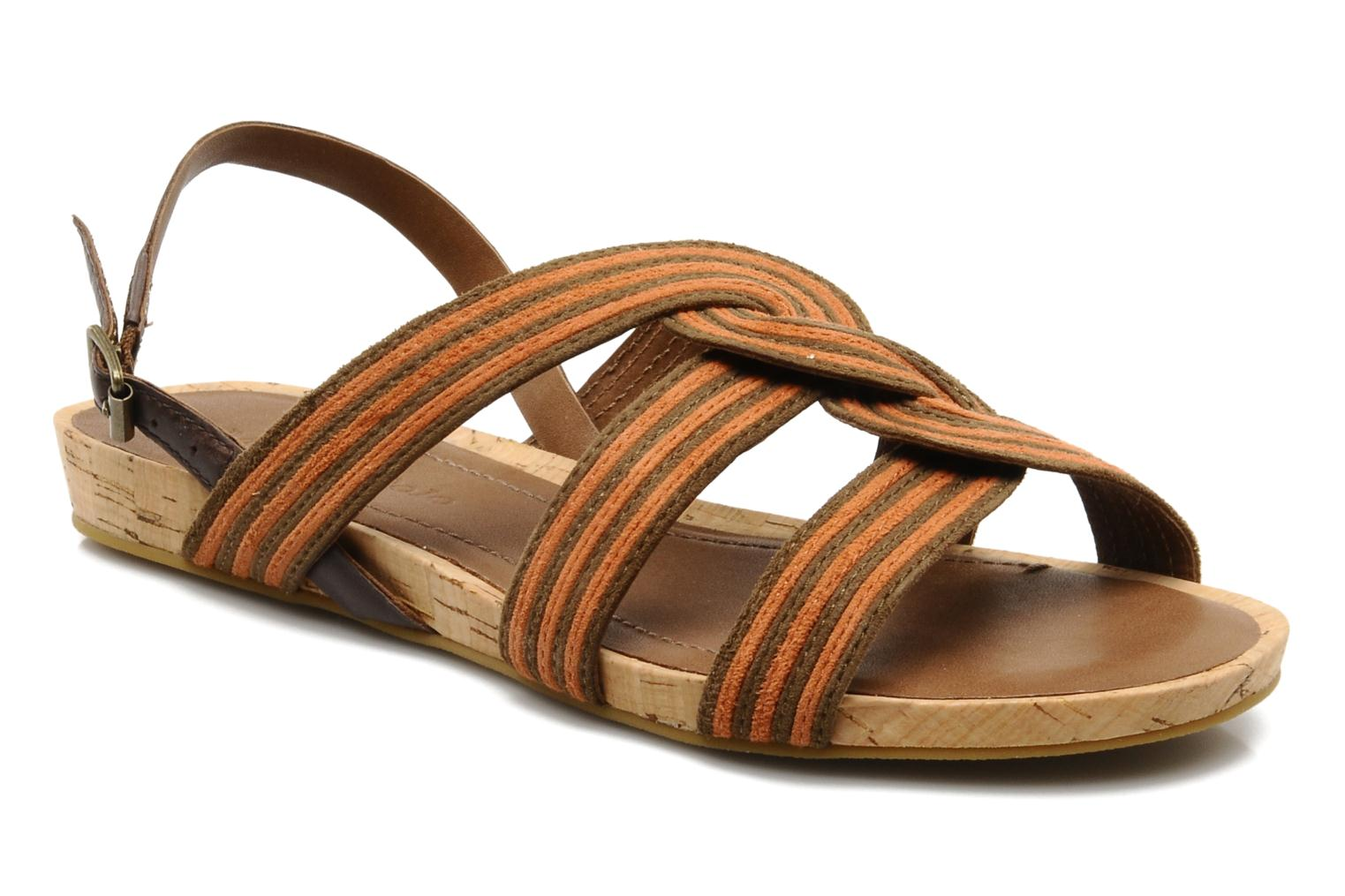 Sandals Marc O'Polo Chouquette Brown detailed view/ Pair view