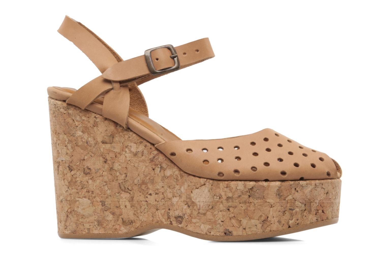 Sandales et nu-pieds Swildens Garance Beige vue derrière