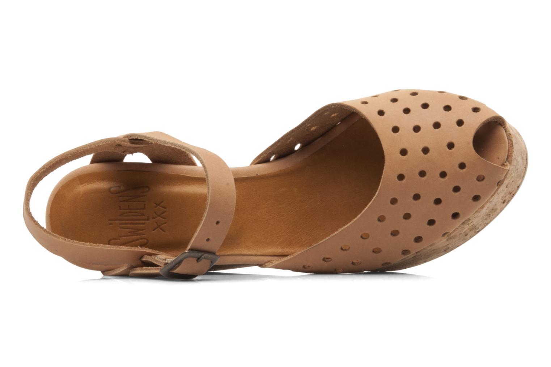 Sandales et nu-pieds Swildens Garance Beige vue gauche
