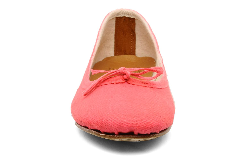 Ballerines Swildens Gianna T Rose vue portées chaussures