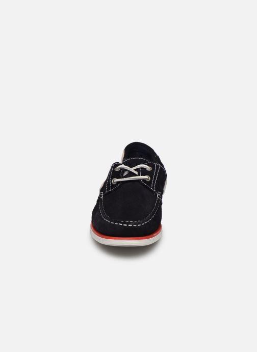 Zapatos con cordones Lumberjack Navigator Azul vista del modelo