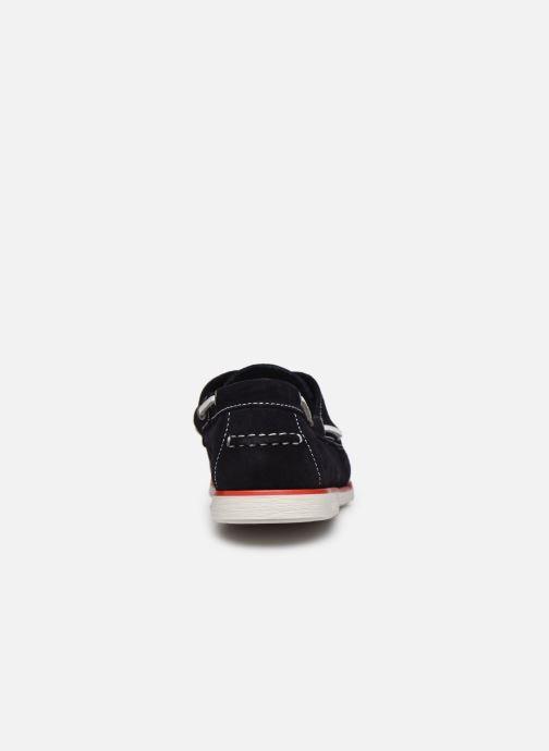 Zapatos con cordones Lumberjack Navigator Azul vistra trasera