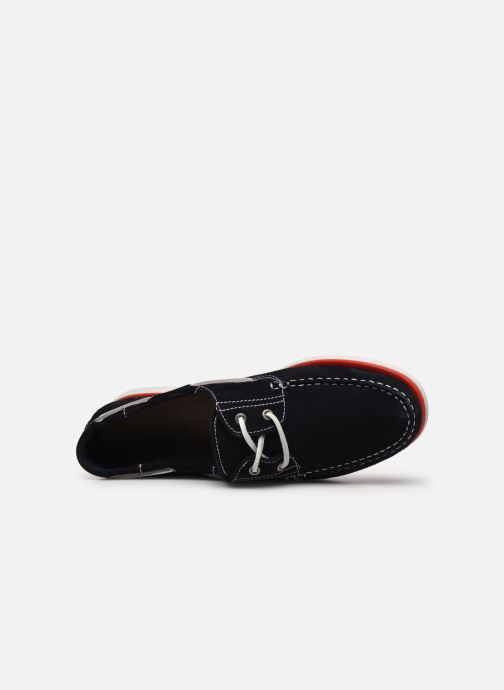Zapatos con cordones Lumberjack Navigator Azul vista de arriba