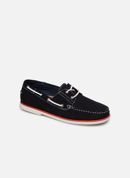 Zapatos con cordones Lumberjack Navigator Azul vista de detalle / par