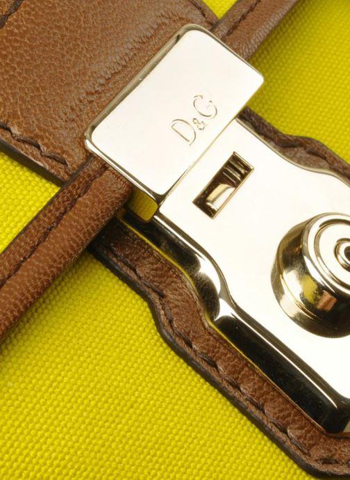 Mini Bags D&G ALYSSON CANVAS gelb ansicht von links
