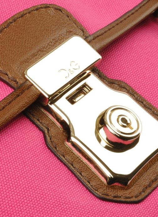 Sacs pochettes D&G ALYSSON CANVAS Rose vue gauche