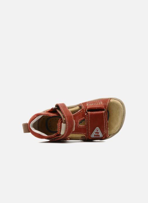 Sandales et nu-pieds Babybotte Tedi Rouge vue gauche