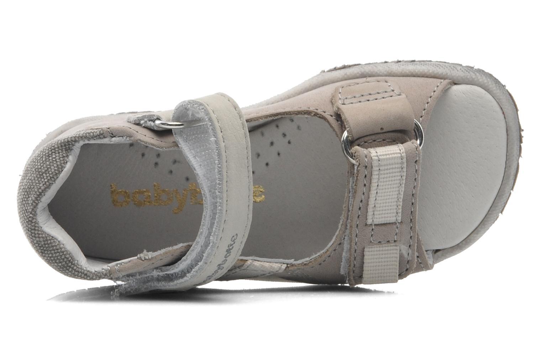 Sandales et nu-pieds Babybotte Tabarli Gris vue gauche